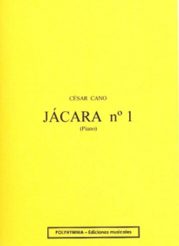 Jácara no. 1, for piano