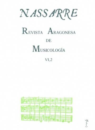 Nassarre. Revista Aragonesa de Musicología, VI, 2