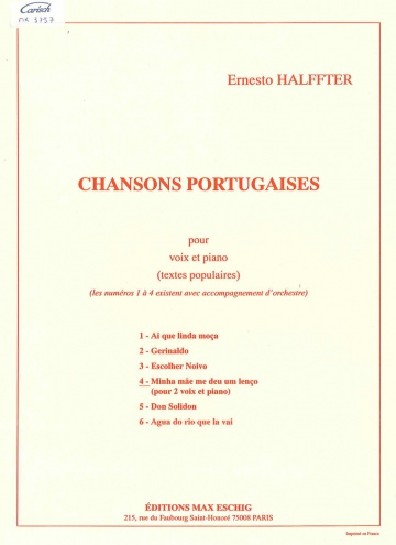 Chanson portugaise 4