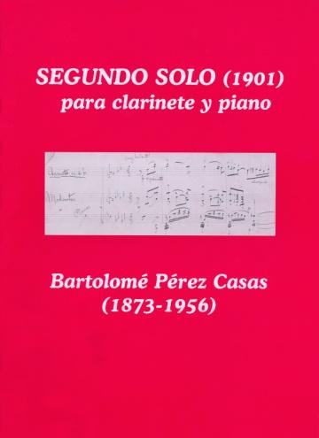 Segundo solo para clarinete y piano (1901)