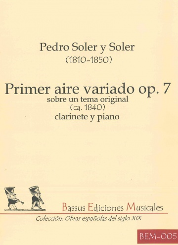 Primer aire variado op. 7 sobre un tema original