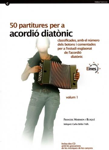 50 partitures acordió diatònic