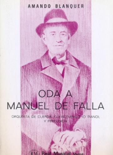Oda a Manuel de Falla
