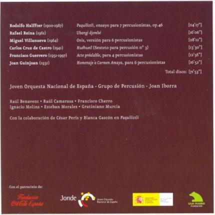Percussion Spanish Music