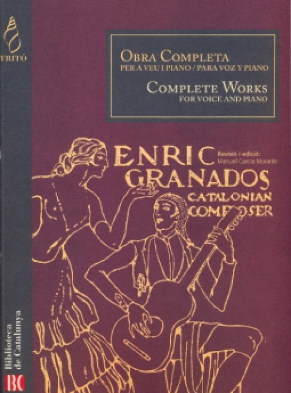Enrique Granados La Maja De Goya Tonadilla Guitar Sheet Music Book